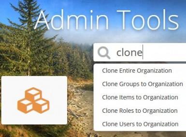 admin tools cloning