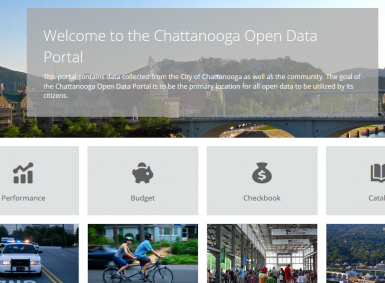 Chattanooga open data portal