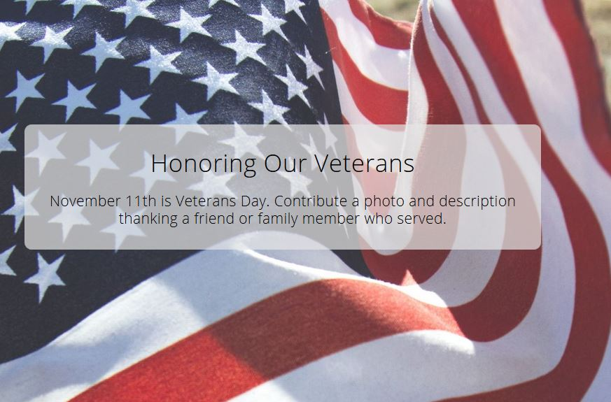 Honoring Our Veterans Thank a Hero on the Story Map GEO Jobe