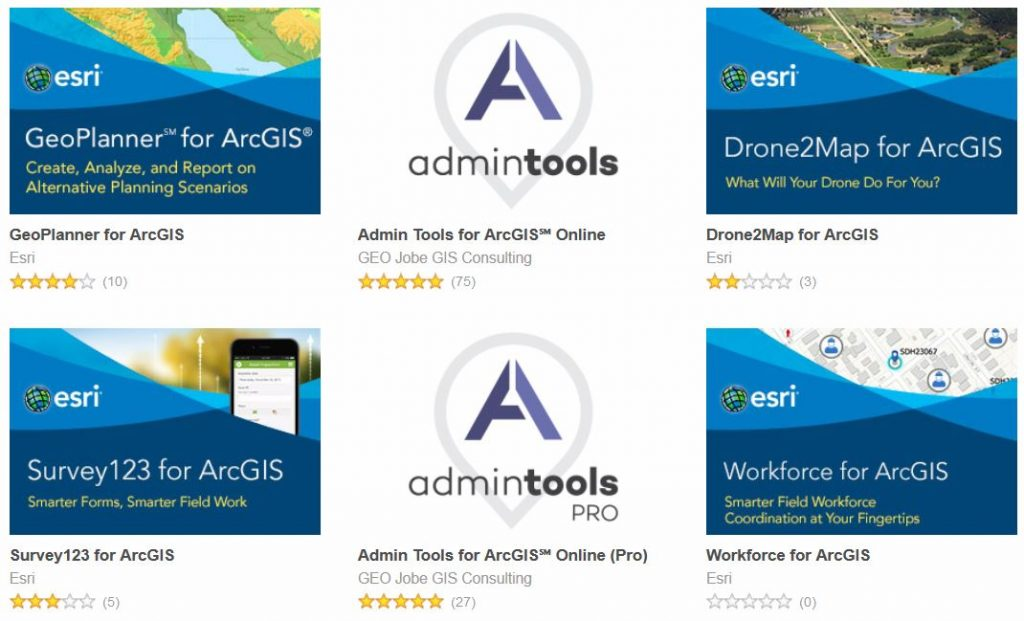 Introduction to the ArcGIS Marketplace - Apps, Content