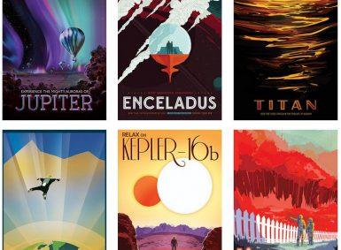 NASA Retro Posters