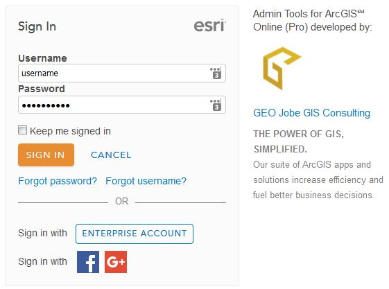 launch admin tools