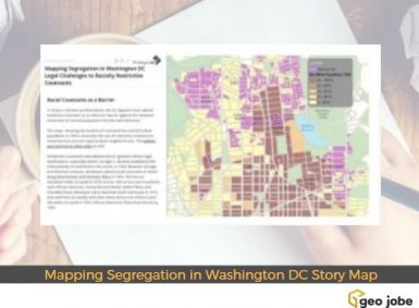 Mapping Segregation in Washington DC Story Map