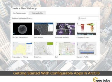 configurable apps in arcgis
