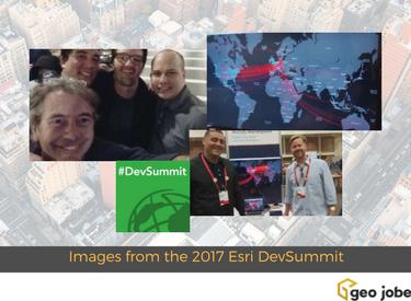 images from the 2017 esri devsummit