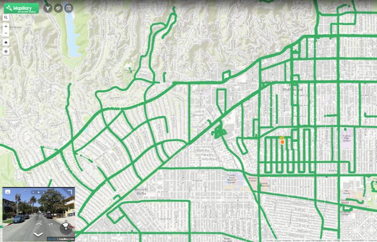 Mapillary for ArcGIS is an ArcGIS Online web app for viewing, creating, and editing GIS data