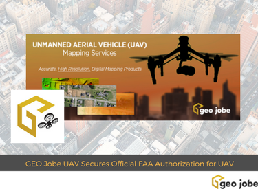 geo jobe FAA aproval