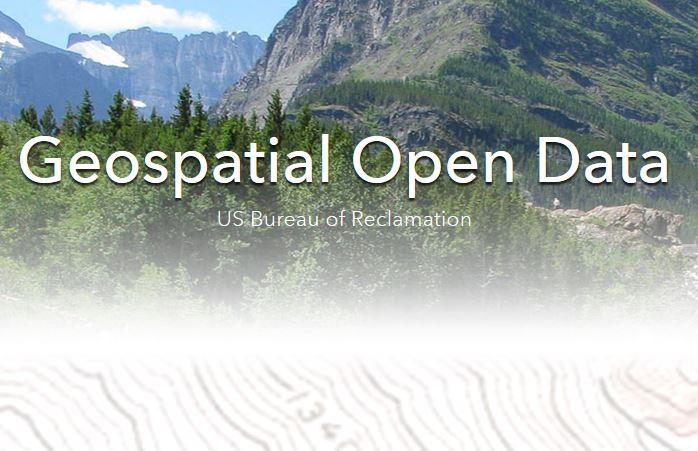Explore All Reclamation Geospatial OpenData