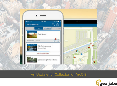 collector for arcgis gets an update collect & update