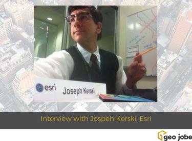 interview with jospeh kerski, esri