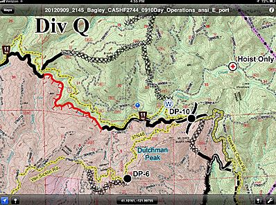 US Forest Service USFS Fighting Wildfires With Mobile Maps And - Us forest service topo maps