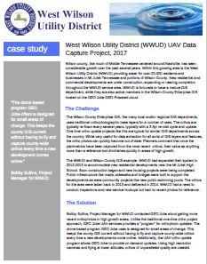 WWUD uav case study