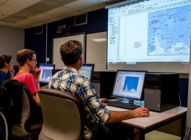 Campus GIS Lab - Image credit: COGS