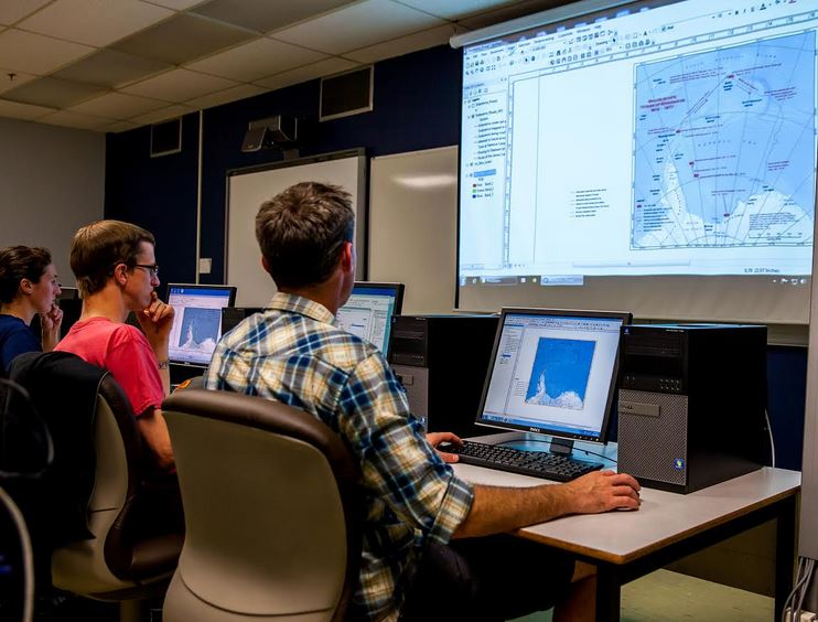 Campus GIS Lab - Image credit: COGS