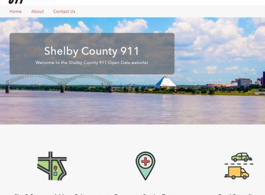 shelby county, tennessee opendata