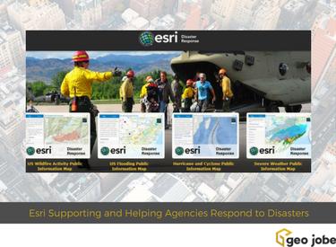 esri disaster response resources