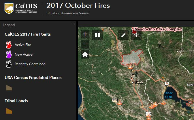 Fires California Map >> NorCal Wildfire Maps - Resources, WebMaps and WildFire Public Information Updates - GEO Jobe