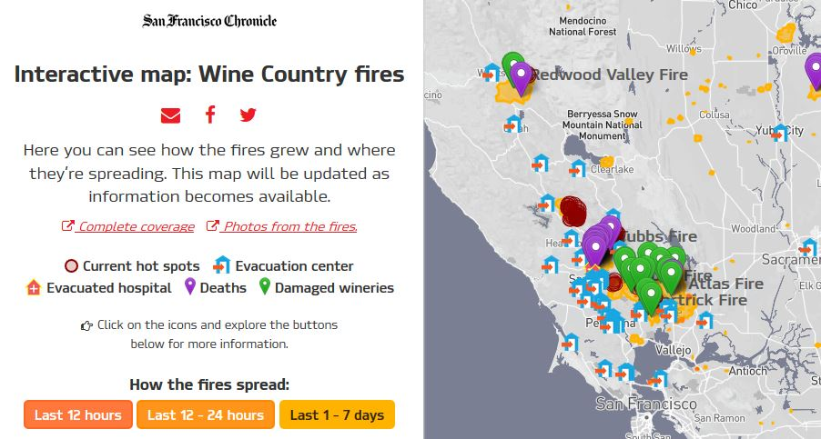 Norcal Wildfire Maps Resources Webmaps And Wildfire Public