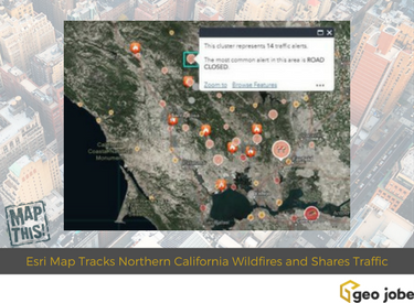 california wildfire maps