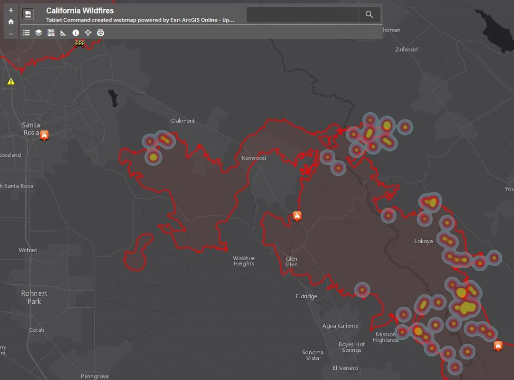 NorCal Wildfire Maps Resources WebMaps And WildFire Public - Us wildfire activity map