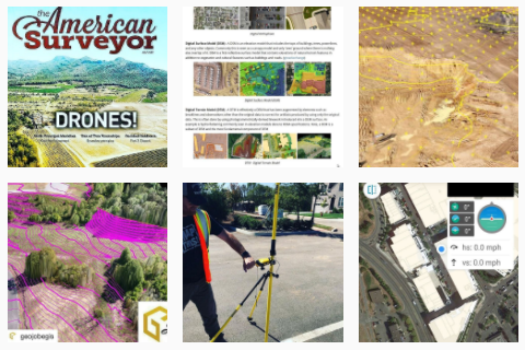Our GEO Jobe UAV services Instagram shares UAV tech tips and images from project work