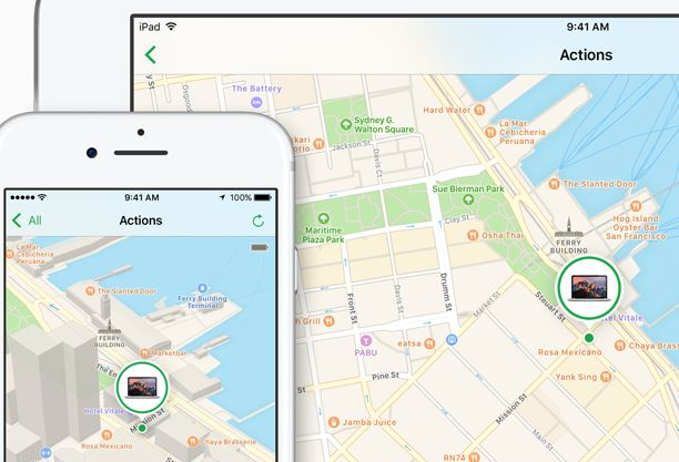 iPhone location history can help locate a lost device