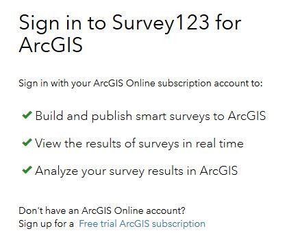 arcgis free trial