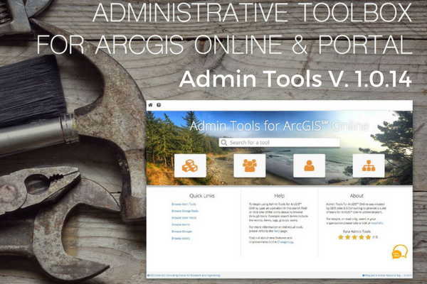 Admin Tools Updated to V 1.0.14