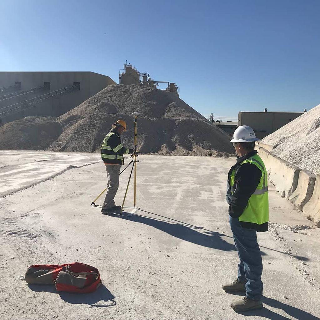 UAV Data collection for stockpile measurements