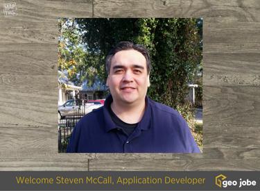 GEO Jobe Welcomes Steven McCall as Application Developer