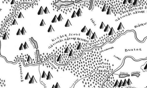 tolkein map style