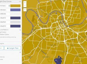geo jobe vector tile map style