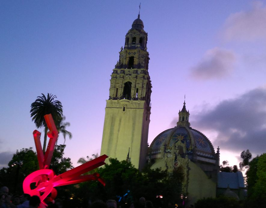 Party in Balboa Park
