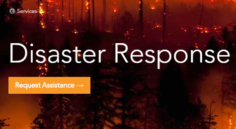 esri disaster response