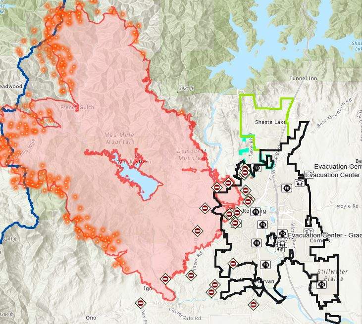Interactive Maps   A Crucial Resource for Tracking Wildfires and