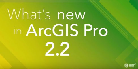 Just in Time for ESRIUC - ArcGIS Pro Gets an Update to R 2.2