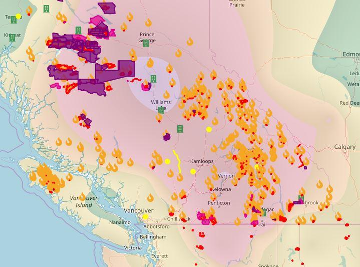 BC firemap