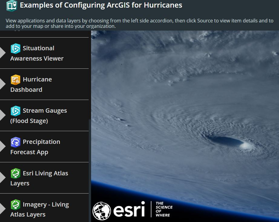 Configuring ArcGIS for Hurricanes