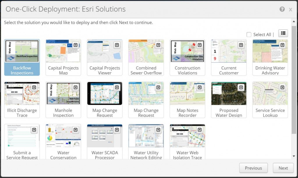Admin Tools for ArcGIS Online One-Click Solutions