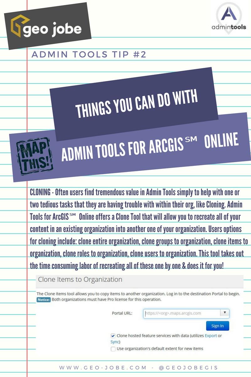 admin tools tip #2 cloning
