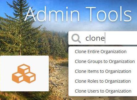 Admin Tools clone tool