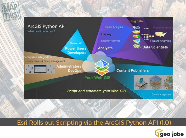 Esri Rolls out Scripting and Automation via the ArcGIS