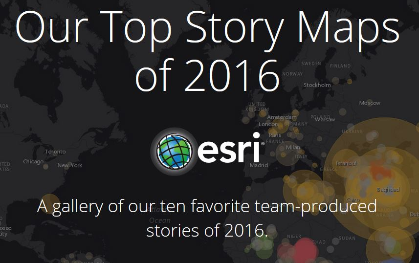 top story maps of 2016