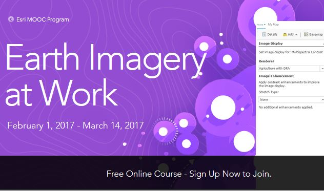 esri earth imagery mooc