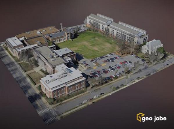 3D Model delivery for University School of Nashville