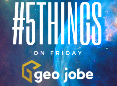 5things onf Friday - geo tips