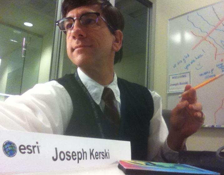 gis professional, joseph kerski