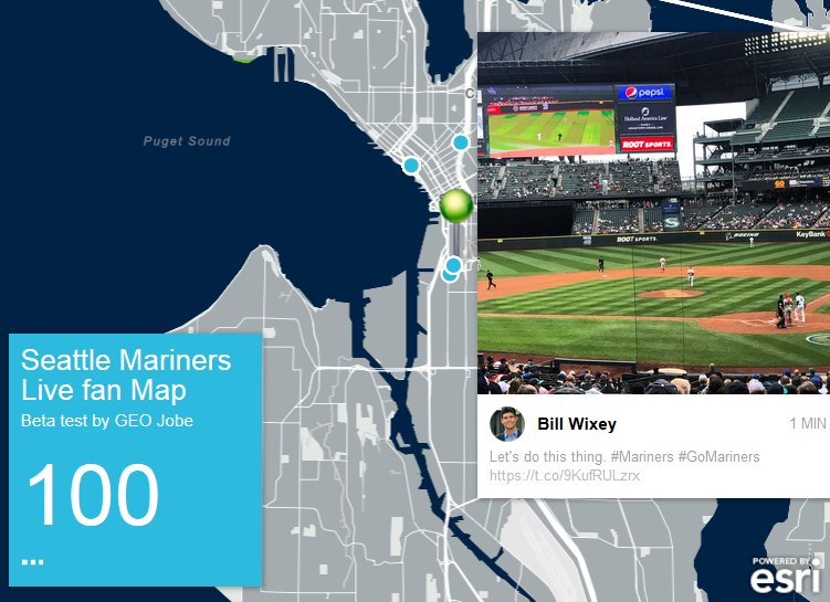 seattle mariners twitter map