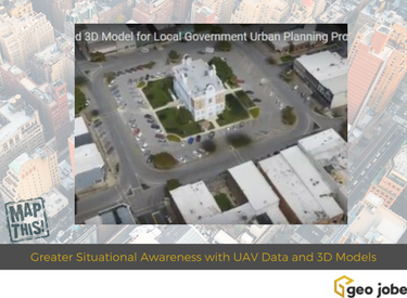 urban planning 3d model