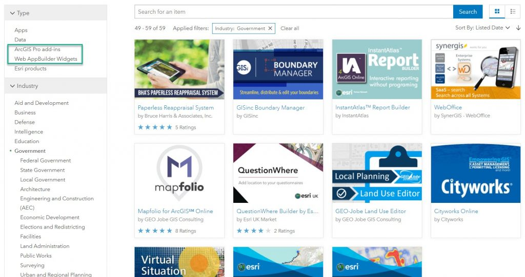 arcgis marketplace add-ins